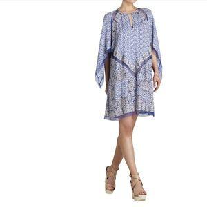 BCBGMAXAZRIA Bardot printed dress